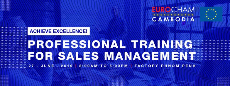 Professional Training for Sales Management