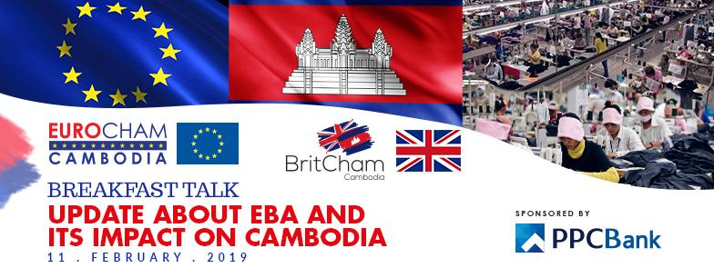 Breakfast Talk Update about EBA and its Impact on Cambodia