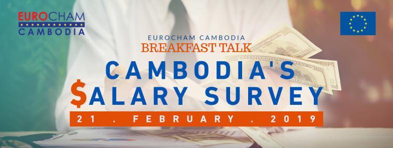Breakfast Talk on Cambodia's Salary Survey - EuroCham Cambodia
