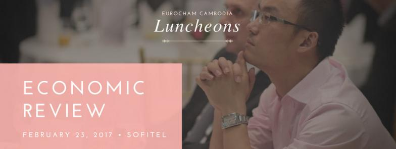 Feb 23 Luncheon: Cambodia's challenges as a new lower middle-income economy