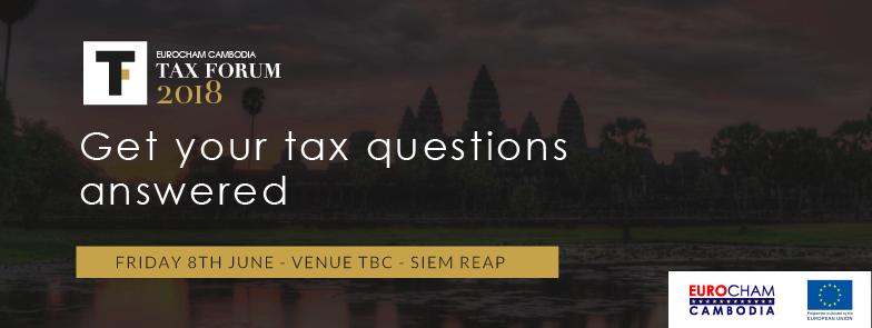 Tax Forum 2018 - Siem Reap