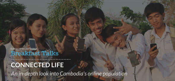 BREAKFAST TALK: Connected Life. A look at Cambodia's online population