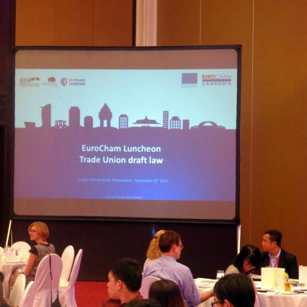 Luncheon | Trade Union draft law - EuroCham Cambodia