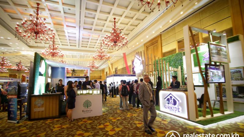 Over $20 Million of property sold at the Cambodia Real Estate Show 2