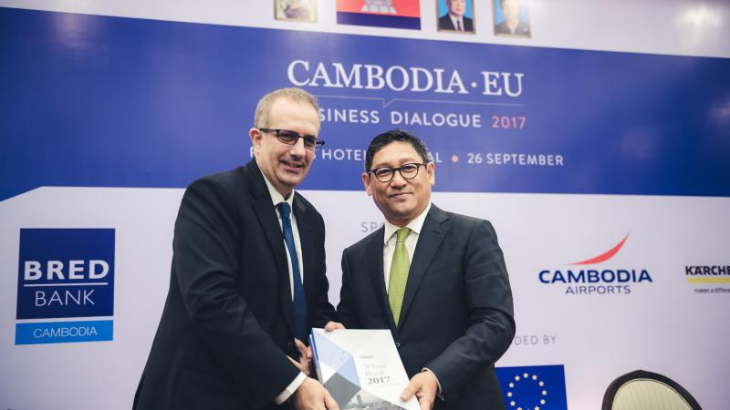 Recap: Cambodia-EU Business Dialogue 2017