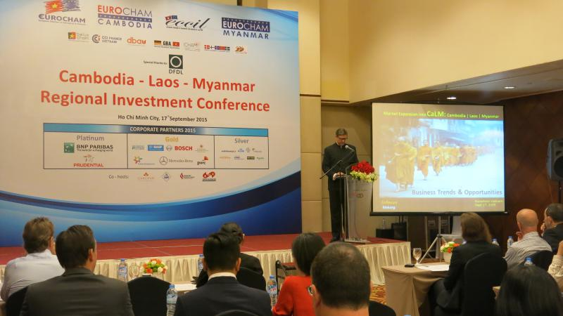 Investment Conference on Opportunities in Cambodia, Laos, Myanmar in Manila and Saigon