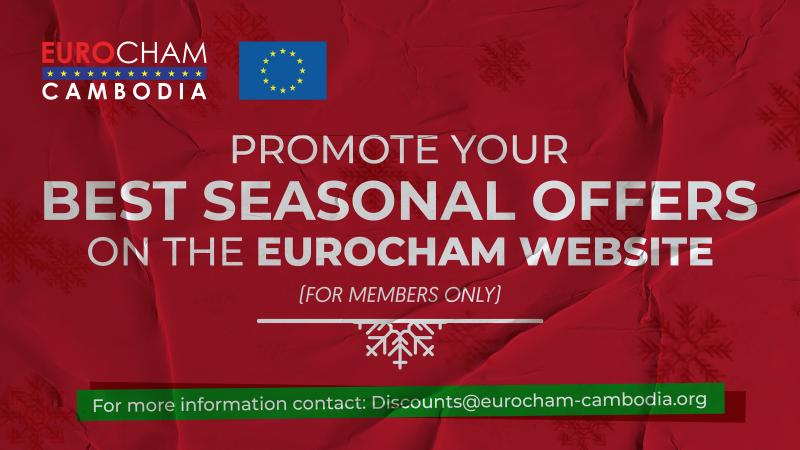 Extra Visibility with EuroCham during this Festive Season!