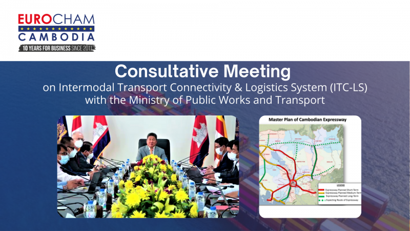 Consultative Meeting on Intermodal Transport Connectivity & Logistics System with Ministry of Public Works and Transport