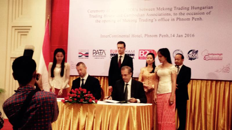 MoU Signed with Mekong Trading Hungarian-Cambodian Trading House