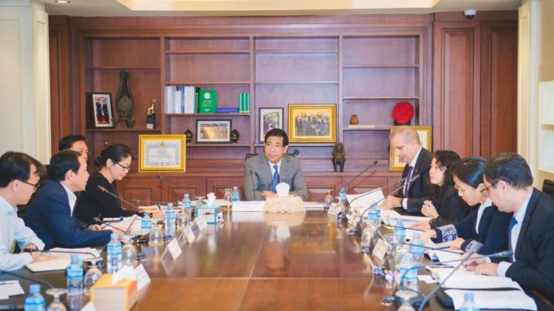EuroCham Meet with the Director General of Taxation - H.E. Kong Vibol