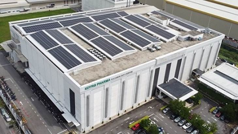 Cleantech Solar completes rooftop PV project for Kotra Pharma in Melaka