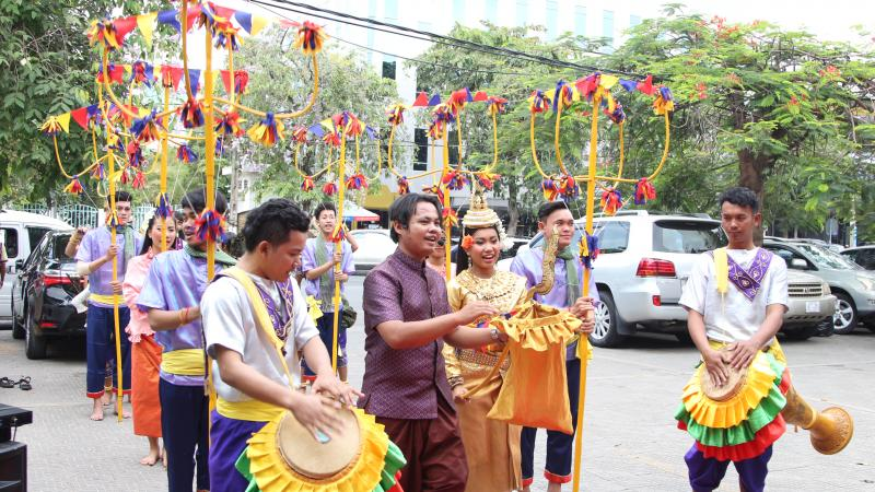 the khmer new year