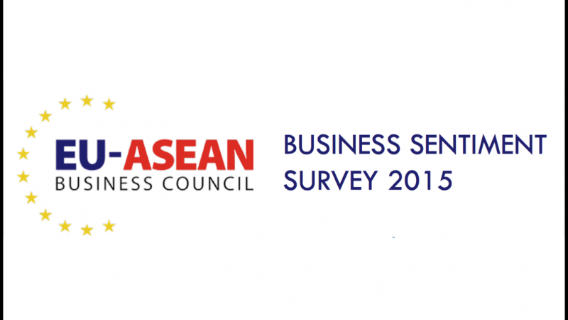 Results of the EU-ASEAN Business Sentiment Survey 2015