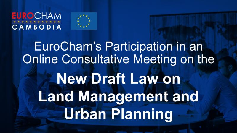 Online Consultative Meeting on the New Draft Law on Land Management and Urban Planning