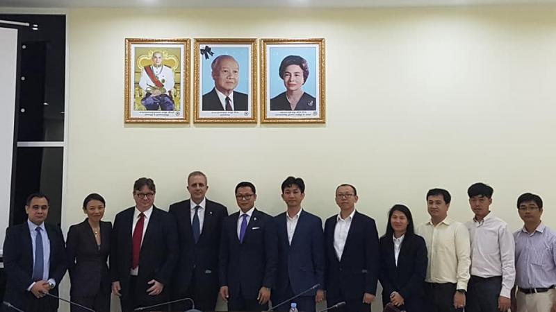 EuroCham Meets with H.E. Dr Kan Channmeta