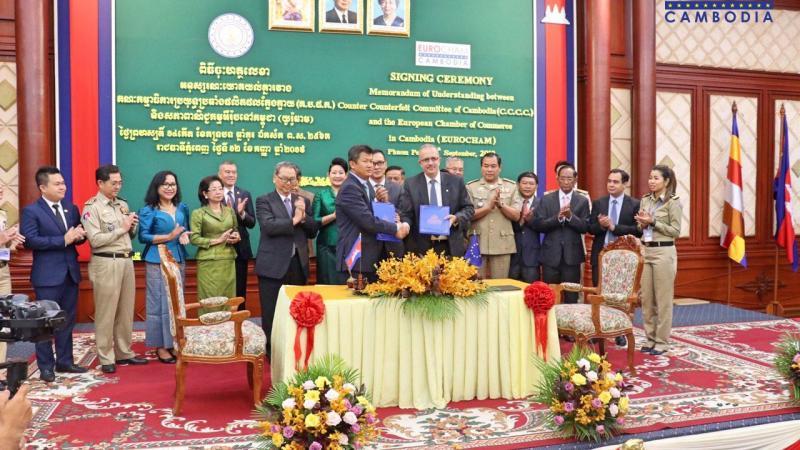 MoU between the Counter Counterfeit Committee and EuroCham