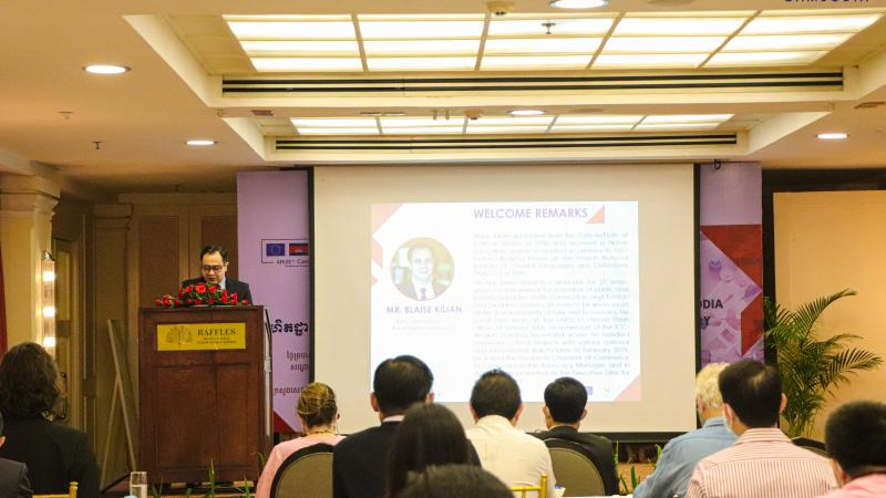 Workshop on Enhancement of the Cambodia National Trade Repository