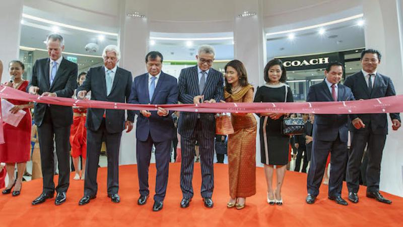 Inauguration of T-Galleria