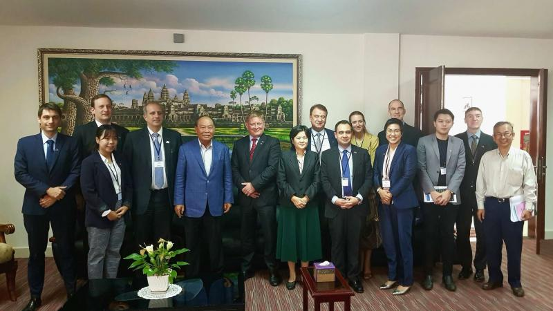 EU-ABC Business Delegation Visit to Cambodia