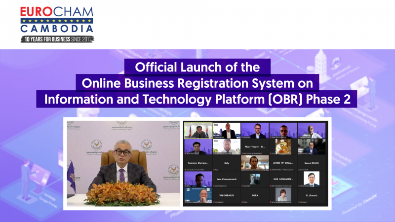 Official launch of the Online Business Registration System on Information and Technology Platform (OBR) Phase 2
