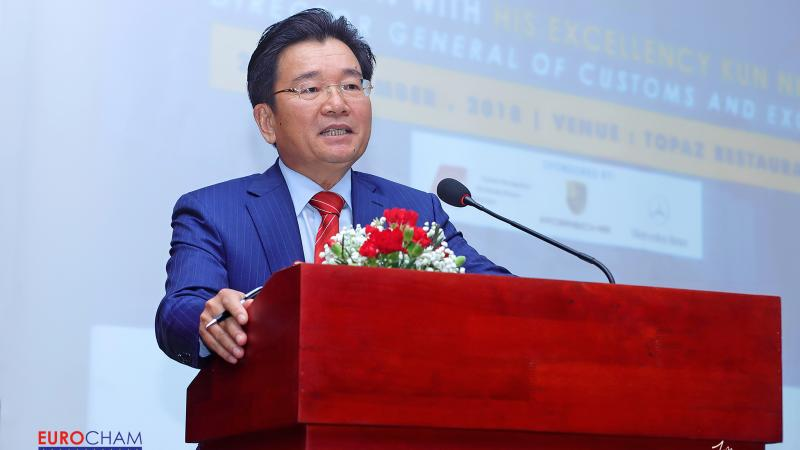Event Recap: Luncheon with H.E Dr. Kun Nhem, Director General of Customs and Excise