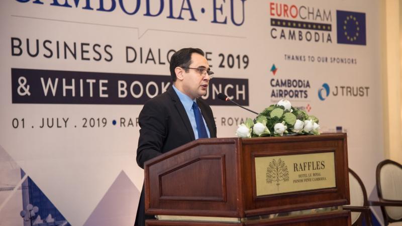 Event Recap: CAMBODIA-EU BUSINESS DIALOGUE & WHITE BOOK LAUNCH 2019
