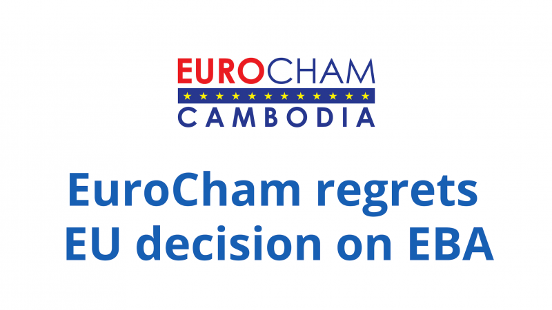 EuroCham Regrets EU decision on EBA