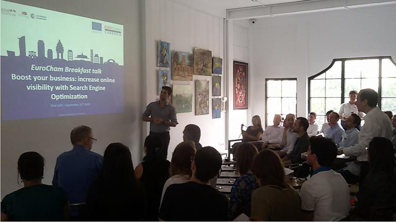 A successful first Breakfast Talk for the Digital and New Technologies Committee