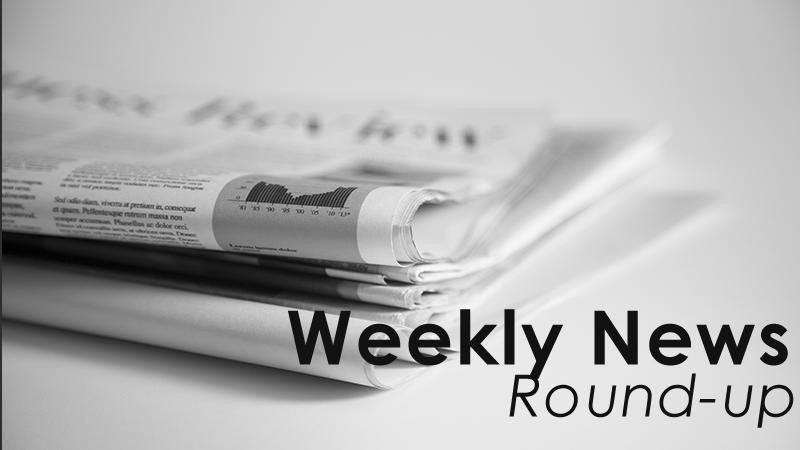 Weekly news round up 2016 / Week 1