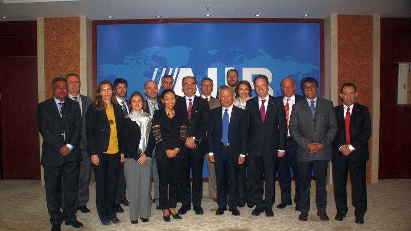 European Business Organization Worldwide Network (EBOWWN) meets in Beijing