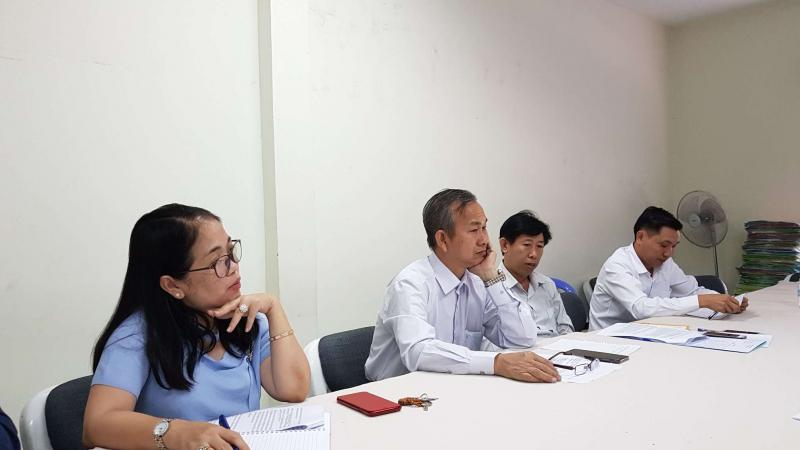 Meeting with the Director of Department of Drugs and Food of the Ministry of Health