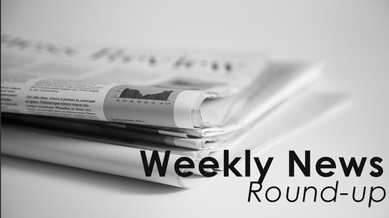 Weekly news round up 2016/ Week 3